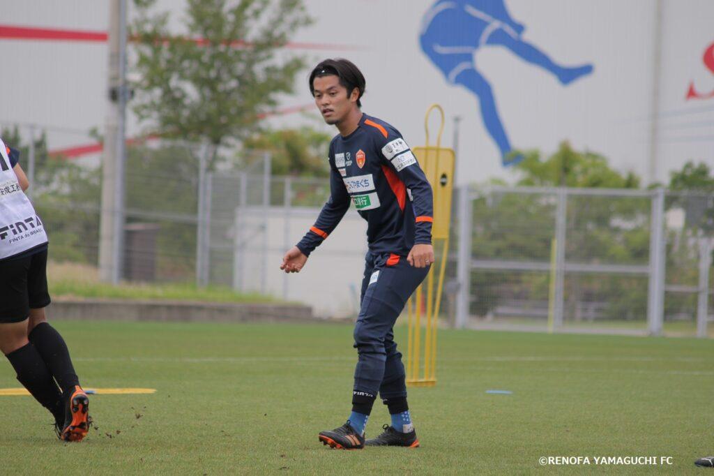 草野侑己(レノファ山口)
